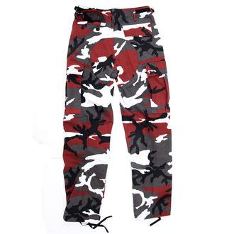pantaloni uomo US BDU - RED-CAMO, BOOTS & BRACES