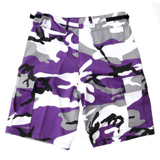 pantaloncini uomo US BDU - Army - Lila Camo, BOOTS & BRACES
