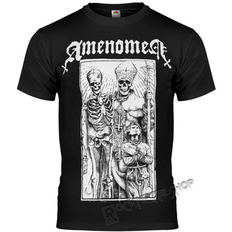 t-shirt hardcore uomo - POPE AND DEATH - AMENOMEN, AMENOMEN