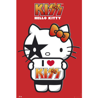 poster Hello Kitty - Kiss I Love - GB Posters, HELLO KITTY, Kiss