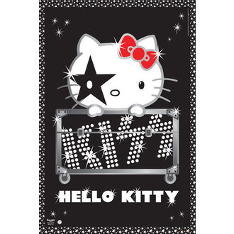 poster Hello Kitty - Kiss Tour - GB Posters, HELLO KITTY, Kiss