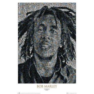poster Bob Marley - Mosaico II - GB Posters, GB posters, Bob Marley