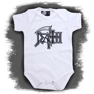 corpo bambino Death - Logo - White, Metal-Kids, Death