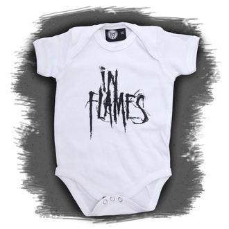 corpo bambino In Flames - Logo - White, Metal-Kids, In Flames