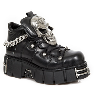 stivali in pelle donna - NOMADA TOWER ACERO - NEW ROCK, NEW ROCK