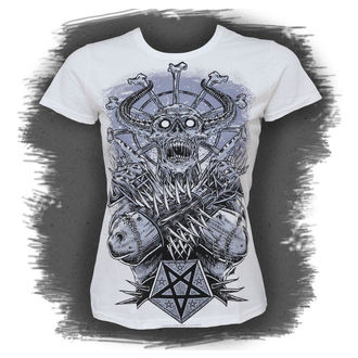 t-shirt hardcore donna - Metal Demon, BLACK ICON