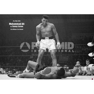 poster Muhammad Ali Liston - Paesaggio - Pyramid Posters, PYRAMID POSTERS, Muhammad Ali