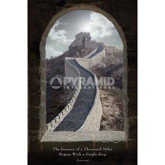 poster Viaggio Of Be Migliaia Miglia - Pyramid Posters, PYRAMID POSTERS