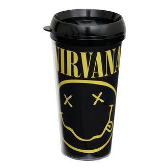 tazza termica Nirvana - ROCK OFF - CURP, ROCK OFF, Nirvana