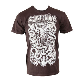 t-shirt metal uomo Smashed Face - Shark - NNM - Chocolate, NNM, Smashed Face
