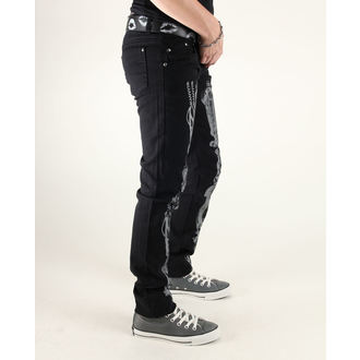 pantaloni donna 3RDAND56th - Steam Punk Skinny Jeans, 3RDAND56th