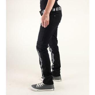 pantaloni donna 3RDAND56th - Steam Punk Skinny Jeans - JM1025