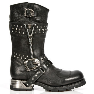 stivali in pelle donna - MR022-S1 - NEW ROCK, NEW ROCK