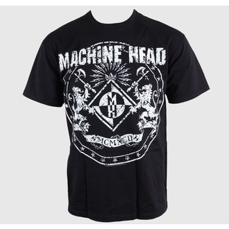 t-shirt metal uomo Machine Head - Classic Crest - ROCK OFF, ROCK OFF, Machine Head