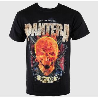t-shirt metal uomo Pantera - Outlaw Skull - BRAVADO, BRAVADO, Pantera