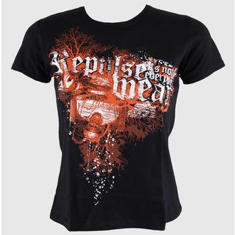 t-shirt street donna - Black - REPULSE, REPULSE