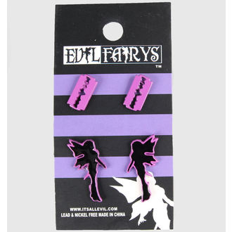 orecchini POIZEN INDUSTRIES - EFES1 - Fairy & Lametta, EVIL FAIRYS