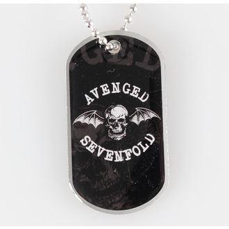 collana ( piastrina) Avenged Sevenfold - Death Bat - RAZAMATAZ, RAZAMATAZ, Avenged Sevenfold