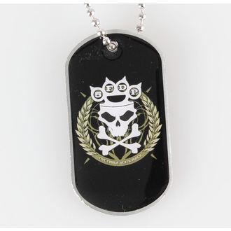 collana ( piastrina) Five Finger Death Punch - Nocca Crown - RAZAMATAZ, RAZAMATAZ, Five Finger Death Punch