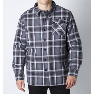camicia uomo con maniche lunghe METAL MULISHA - Calibro, METAL MULISHA