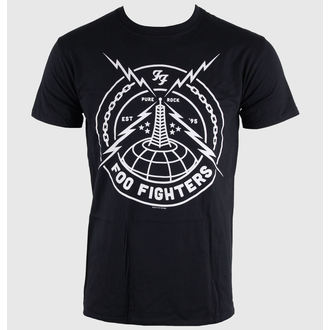 t-shirt metal uomo Foo Fighters - Black Strike - LIVE NATION, LIVE NATION, Foo Fighters