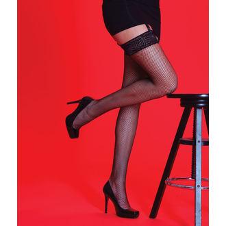 collant Legwear - Scarlatto - A rete  LT, LEGWEAR