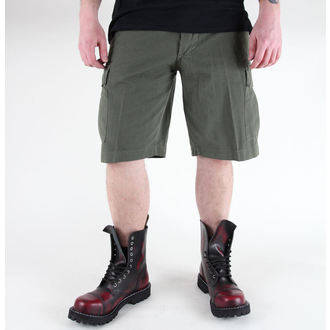 pantaloncini uomo MIL-TEC - US Bermuda - Prewash Oliv - 11402001