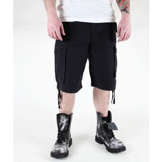 pantaloncini uomo MIL-TEC - Parà - Prewash Nero, MIL-TEC