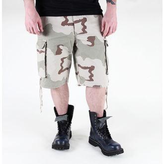 pantaloncini uomo MIL-TEC - Parà - Prewash Deserto, MIL-TEC
