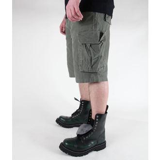 pantaloncini uomo MIL-TEC - US Aviatore - Prewash Oliv, MIL-TEC