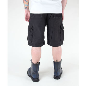 pantaloncini uomo MIL-TEC - US Aviatore - Prewash Nero, MIL-TEC