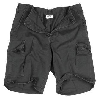 pantaloncini uomo MIL-TEC - BW Bermuda - Prewash Nero, MIL-TEC