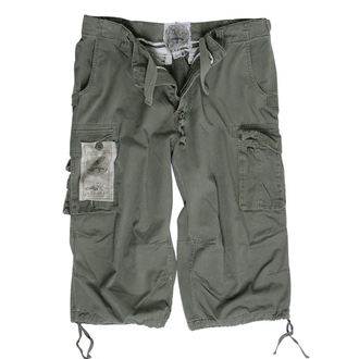 pantaloncini uomo 3/4 MIL-TEC - Aria combattimento - Prewash Oliv, MIL-TEC