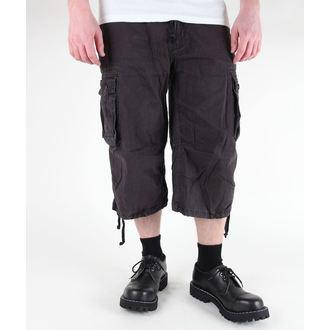 pantaloncini uomo 3/4 MIL-TEC - Aria Combat - Prewash - Nero, MIL-TEC