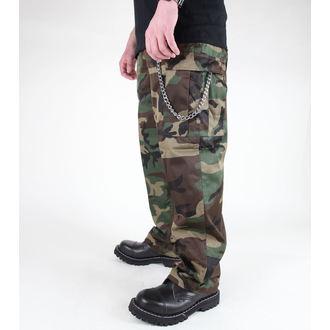 pantaloni uomo MIL-TEC - US Feldhose - Woodland, MIL-TEC