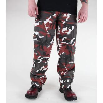 pantaloni uomo MIL-TEC - US Ranger Hose - BDU Red Camo, MIL-TEC