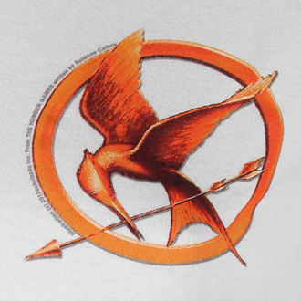 t-shirt film donna Hunger Games - Mocking Jay Pin - LIVE NATION, LIVE NATION