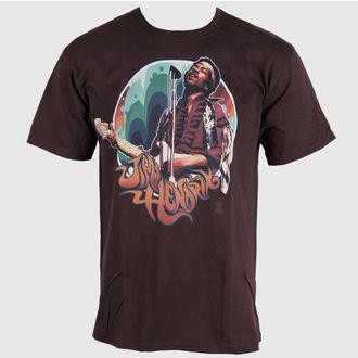t-shirt metal uomo Jimi Hendrix - Hendrix Groove - LIQUID BLUE, LIQUID BLUE, Jimi Hendrix