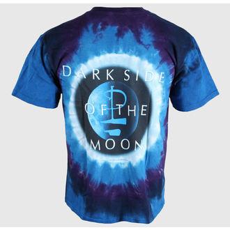 t-shirt metal uomo Pink Floyd - Dark Side Galaxy - LIQUID BLUE, LIQUID BLUE, Pink Floyd