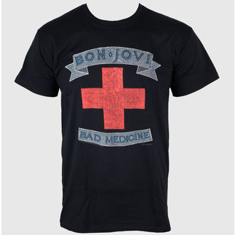 t-shirt metal uomo Bon Jovi - Bad Medicine - PLASTIC HEAD, PLASTIC HEAD, Bon Jovi