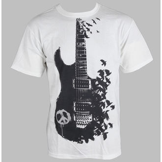 t-shirt uomo - Crow Guitar - LIQUID BLUE, LIQUID BLUE
