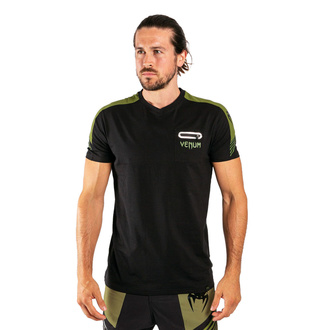 Maglietta da uomo Venum - Cargo - Nero / Verde, VENUM