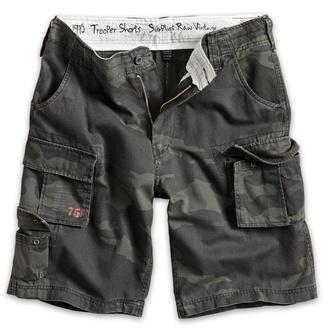 pantaloncini uomo SURPLUS - Trooper - Nero Camo - 07-5600-42