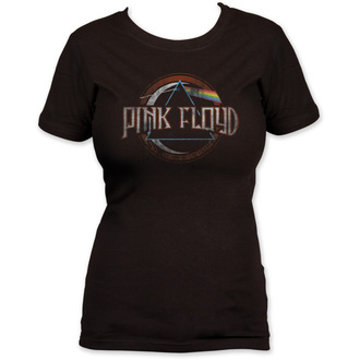 t-shirt metal donna Pink Floyd - Dark Side of the Moon seal - IMPACT, IMPACT, Pink Floyd