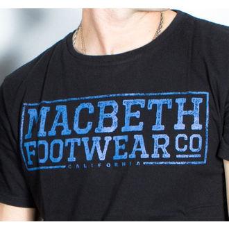 t-shirt street uomo - Embossed - MACBETH, MACBETH