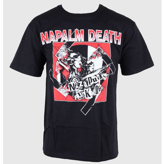 t-shirt metal uomo Napalm Death - - Just Say Rock, Just Say Rock, Napalm Death