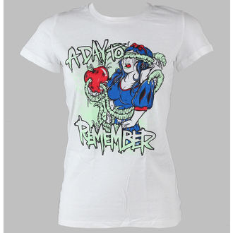 t-shirt metal donna A Day to remember - Bad Apple - VICTORY RECORDS, VICTORY RECORDS, A Day to remember