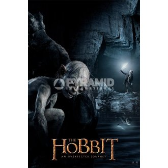 poster Lo Hobbit - Gollum - Pyramid Posters, PYRAMID POSTERS