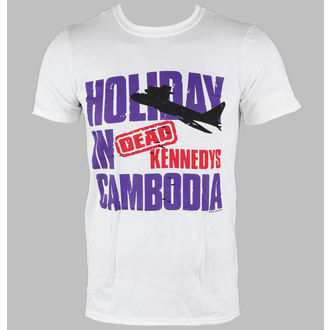 t-shirt metal uomo Dead Kennedys - Cambodia - LIVE NATION, LIVE NATION, Dead Kennedys