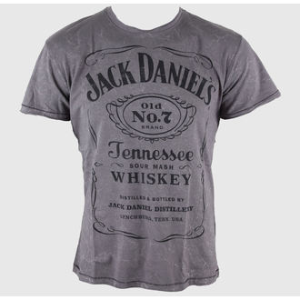 t-shirt street uomo Jack Daniels - Acid Washed - JACK DANIELS, JACK DANIELS